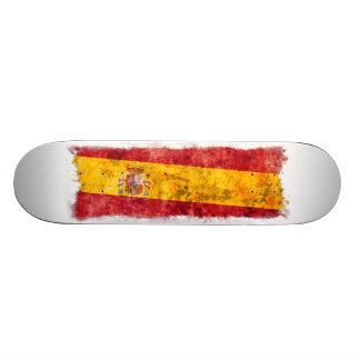 Spanish Flag Skate Board Deck