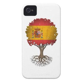 Spanish Flag Tree of Life Customizable iPhone 4 Case