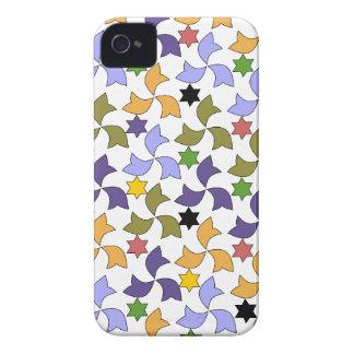 Spanish Geometric Pattern - White iPhone 4 Cases