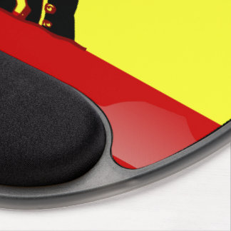 Spanish glossy flag gel mouse mat