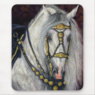 Spanish Gold  - Andalusian Stallion  Mousepad