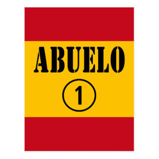 Spanish Grandfathers : Abuelo Numero Uno Postcards