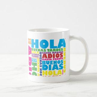Spanish Greetings Coffee Mug