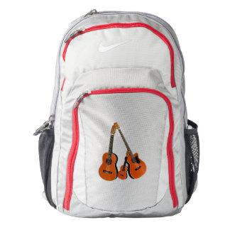 Spanish Guitar Acoustic Bass and Ukulele Backpack