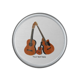 Spanish Guitar Acoustic Bass and Ukulele Bluetooth Speaker