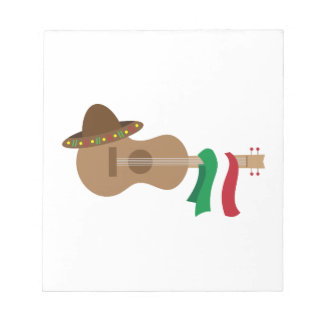 Spanish Guitar Notepad