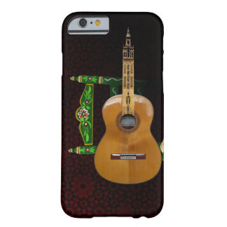 Spanish guitar with Giralda of Seville and chair Barely There iPhone 6 Case