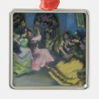 Spanish Gypsy Dancers, 1898 Christmas Ornament