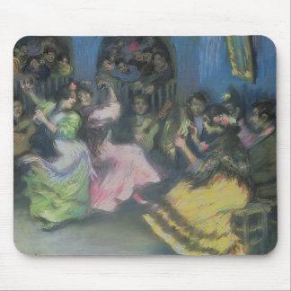 Spanish Gypsy Dancers, 1898 Mousepad