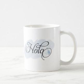 Spanish - Hola Basic White Mug
