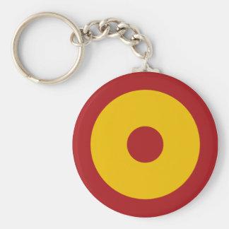 Spanish insignia key ring