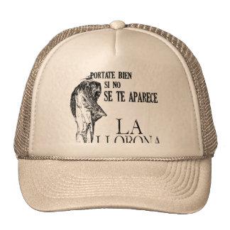 Spanish La LLorona Cap Trucker Hat