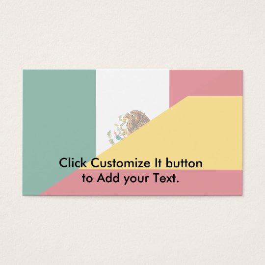 Spanish Language, hybrids Business Card
