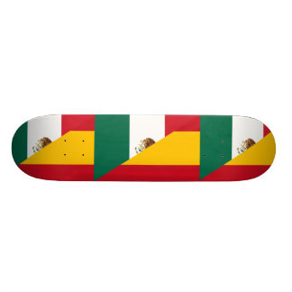 Spanish Language, hybrids Skate Board