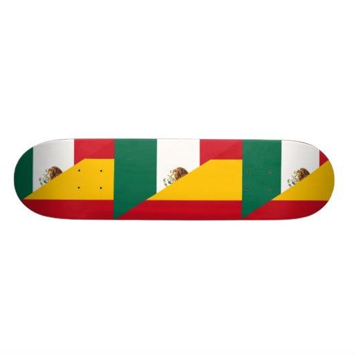 Spanish Language, hybrids Skate Board