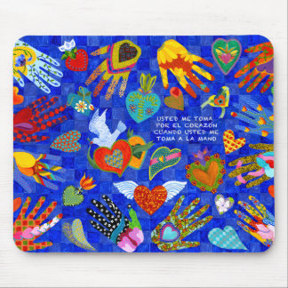 Spanish Love saying for anyone you love Mouse Mat