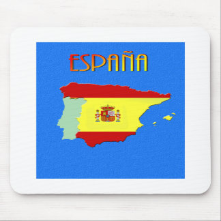 Spanish map Mousemat