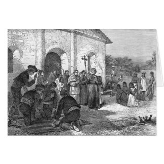 Spanish Mission of the Alamo Greeting Cards
