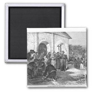 Spanish Mission of the Alamo Magnet