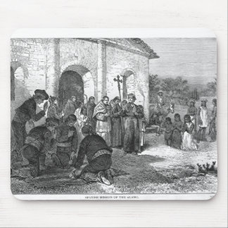 Spanish Mission of the Alamo Mouse Mat