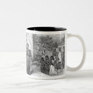 Spanish Mission of the Alamo Two-Tone Coffee Mug