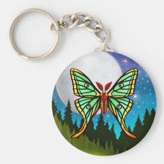 Spanish Moon Luna Moth Keychain