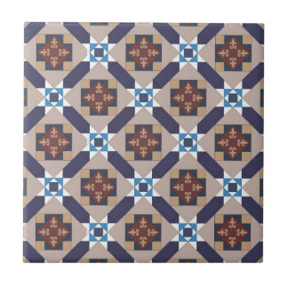 Spanish Moors Pattern Tile