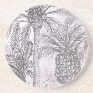 Spanish Palm Trees Coasters