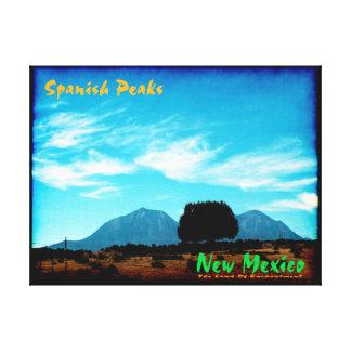 Spanish Peaks, New Mexico Canvas Print