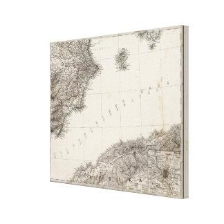 Spanish Peninsula 4 Canvas Print