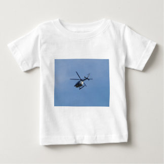 Spanish Police Messerschmitt Helicopter Baby T-Shirt