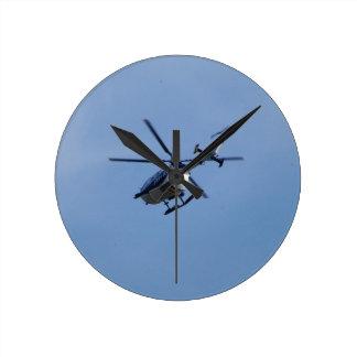 Spanish Police Messerschmitt Helicopter Wall Clocks