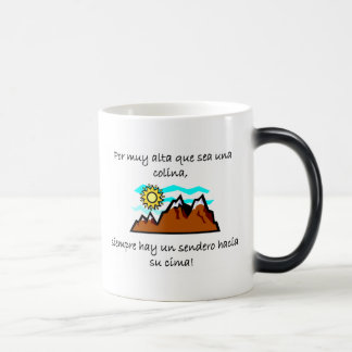 Spanish Quotes 11 Oz Magic Heat Color-Changing Coffee Mug