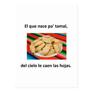Spanish Quotes Post Card