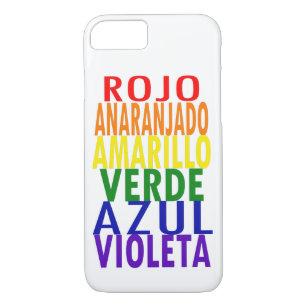 Spanish Rainbow Colours iPhone 8/7 Case