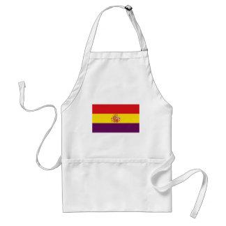 Spanish Republican Flag - Bandera República España Standard Apron