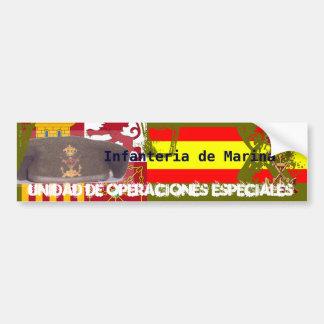 Spanish Royal Marine Commando Bumper Sticker