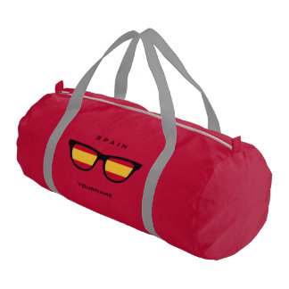 Spanish Shades custom duffle bags