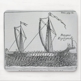 Spanish Ship' Mouse Mat