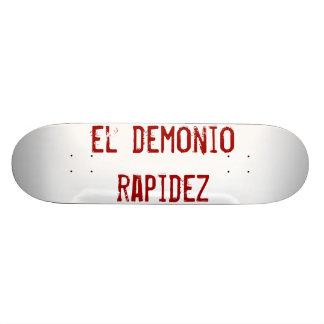Spanish skateboard