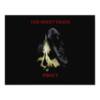 Spanish Skull #1 11 Cm X 14 Cm Invitation Card