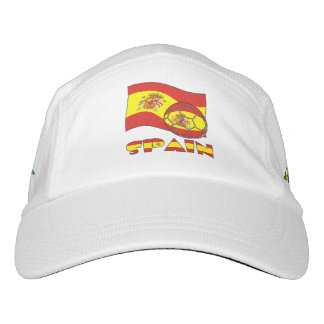 Spanish Soccer Ball and Flag Hat