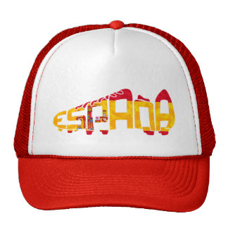 Spanish Soccer Cleat Mesh Hats