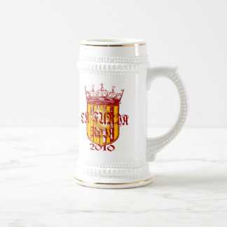 Spanish soccer futbol kings - La Furia Roja 2010 Beer Steins