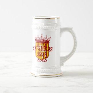 Spanish soccer futbol kings - La Furia Roja 2010 Coffee Mugs