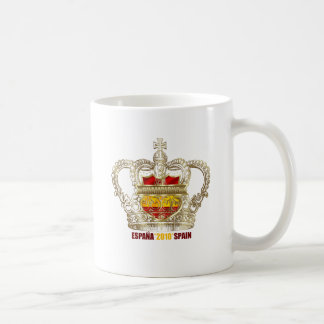 Spanish Soccer kings 2010 World Champions Basic White Mug