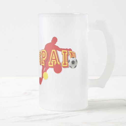 Spanish Soccer Players Bend it Tees and gifts Mugs