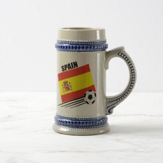 Spanish Soccer Team Beer Steins
