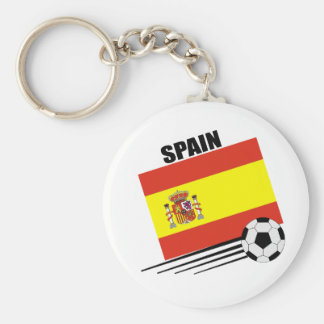 Spanish Soccer Team Key Ring