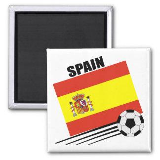 Spanish Soccer Team Square Magnet